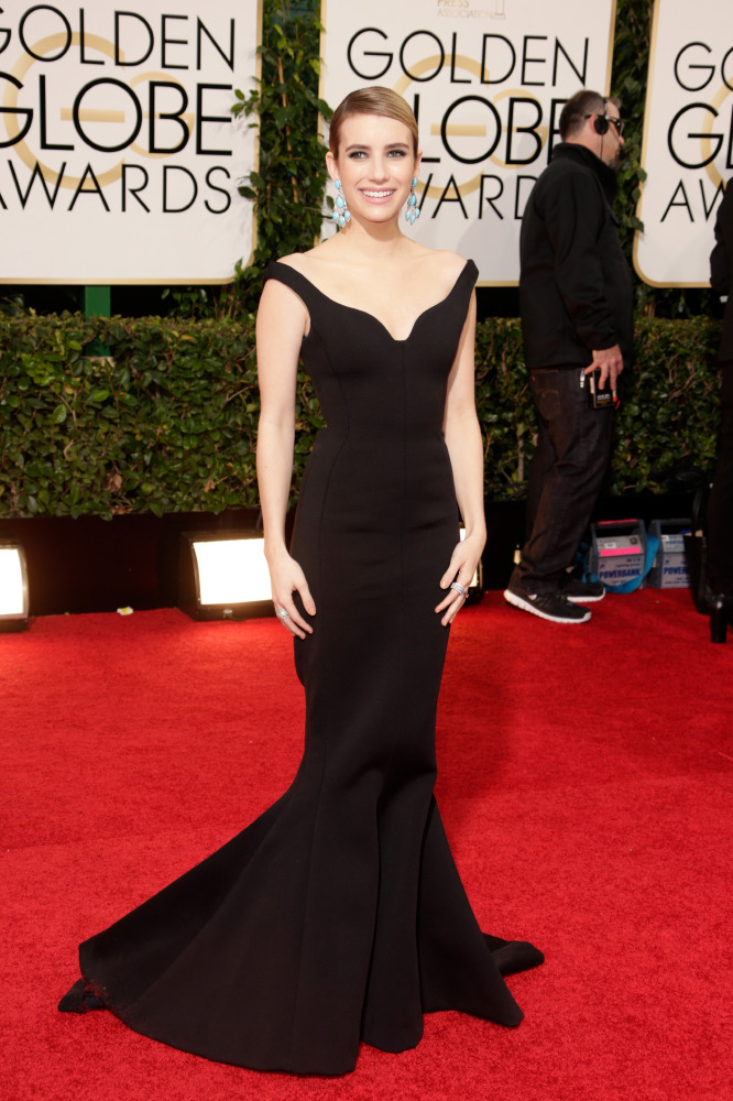 Celebrity fashion at the Golden Globes 2014: Best black gowns