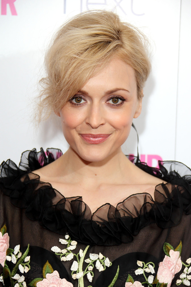 Fearne Cotton was glowing on the red carpet last night