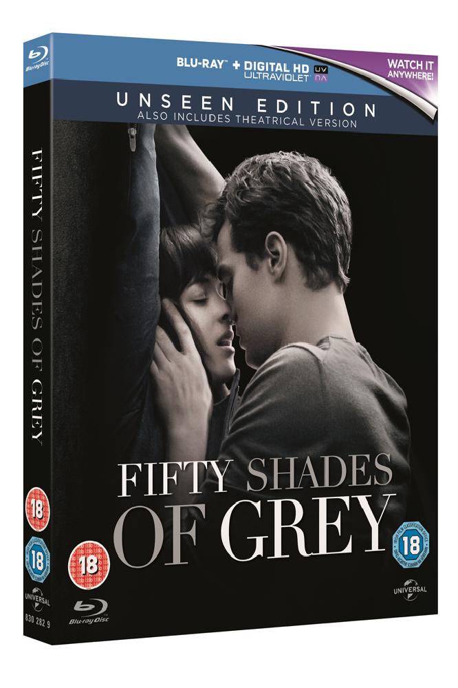 Fifty Shades Of Grey 2 Blu Ray