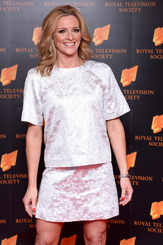 Gabby Logan says her mum is her beauty icon