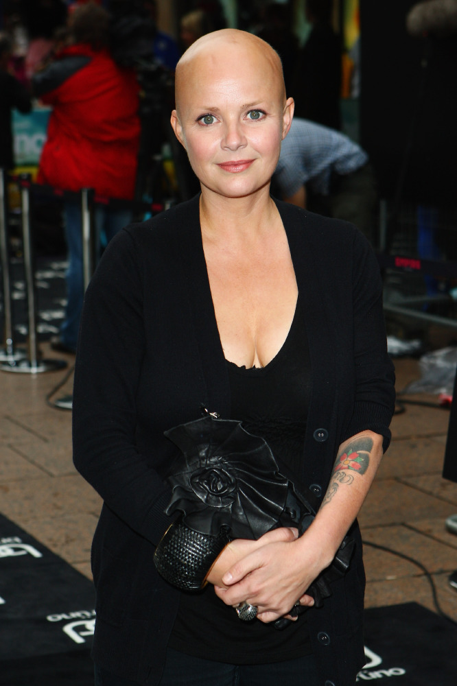 Gail Porter working with Fashion Plus Magazine for LFW