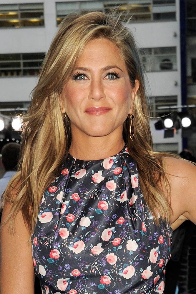 Jennifer Aniston Spent Five Hours Getting Extensions
