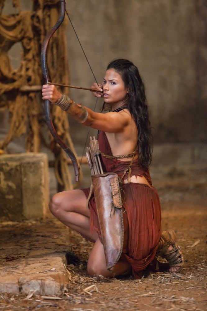 Katrina as Mira in Spartacus / Credit: Starz