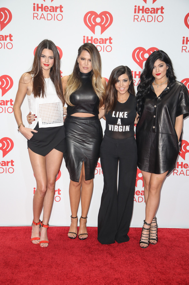 Kendall Jenner works the skort trend on the red carpet with her sisters
