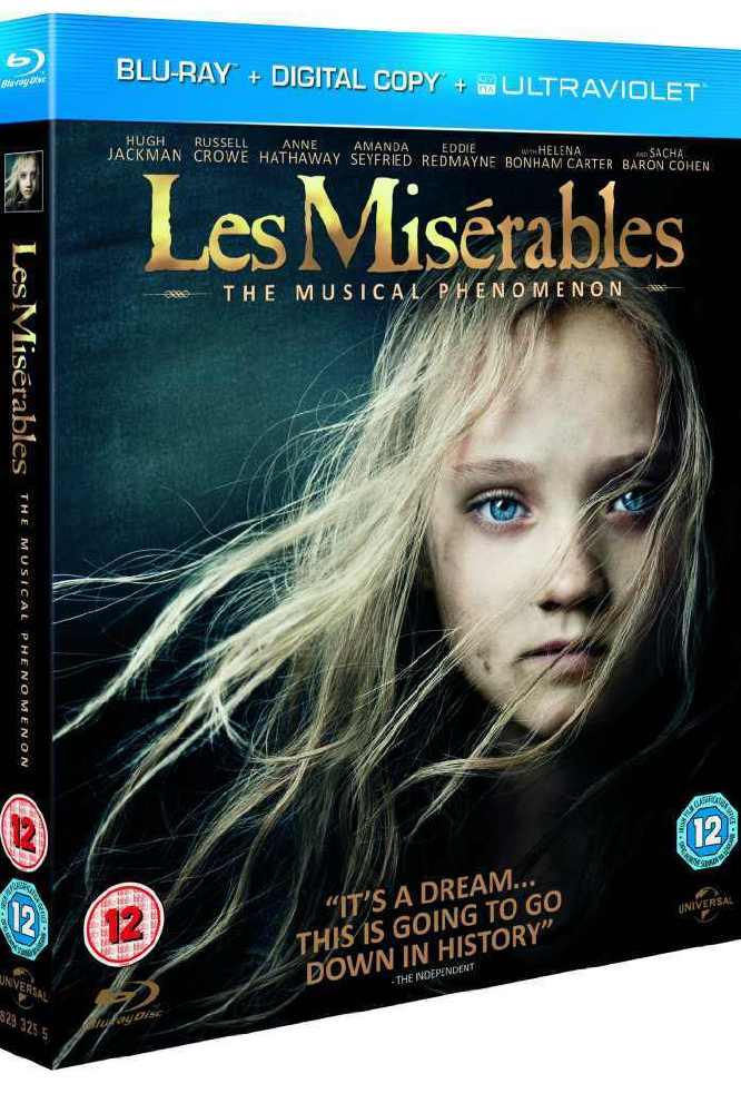 Les Miserables Blu-Ray