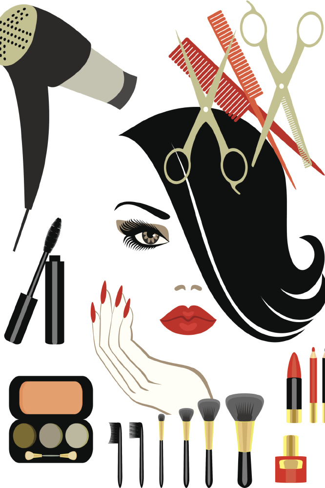 Makeup Clip Art: Back To School Beauty Costs Mums Millions