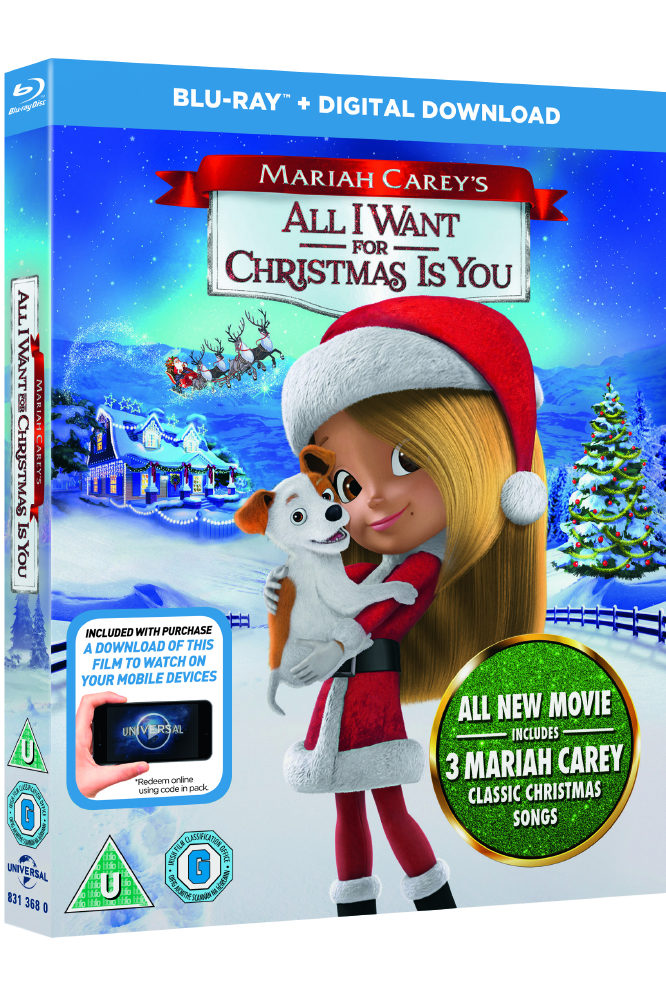 Mariah Careys All I Want For Christmas Is You.Exclusive Mariah Carey Discusses Her New Festive Movie All