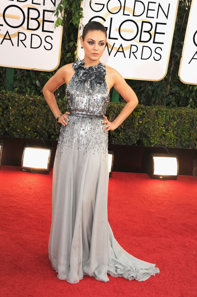 Celebrity fashion at the Golden Globes 2014: Best metallic gowns