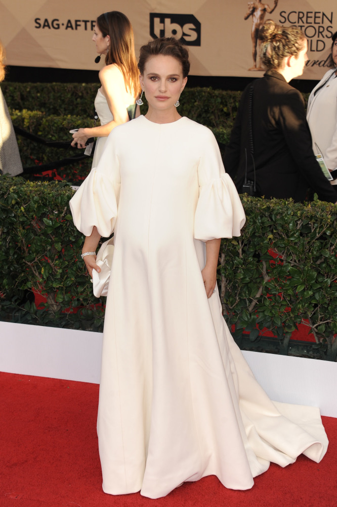 Natalie Portman in Dior at the Screen Actor's Guild Awards