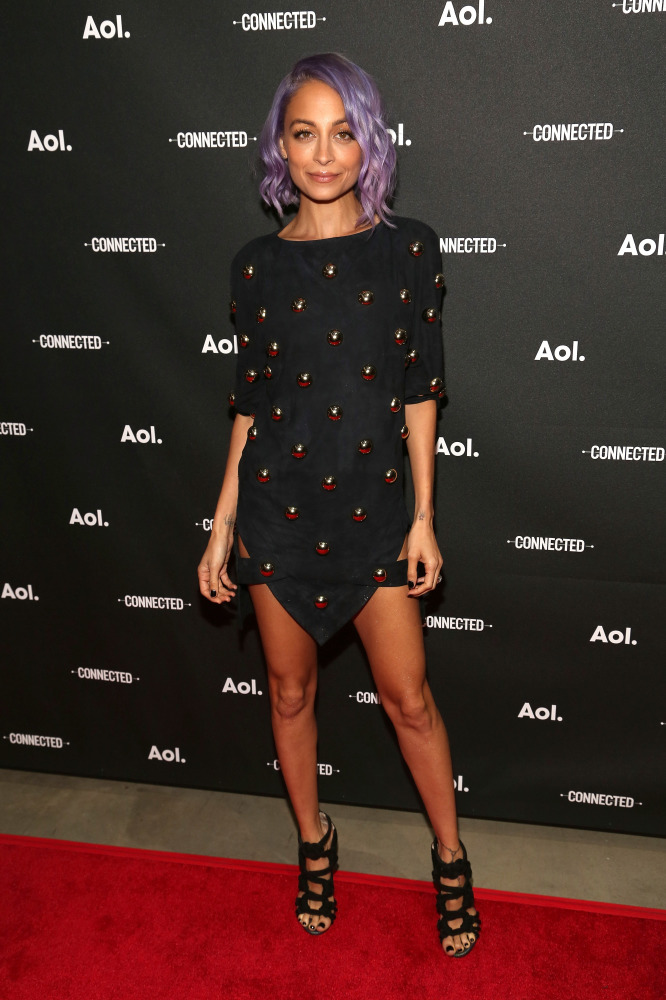 Nicole Richie proves the LBD can be worn any time of year