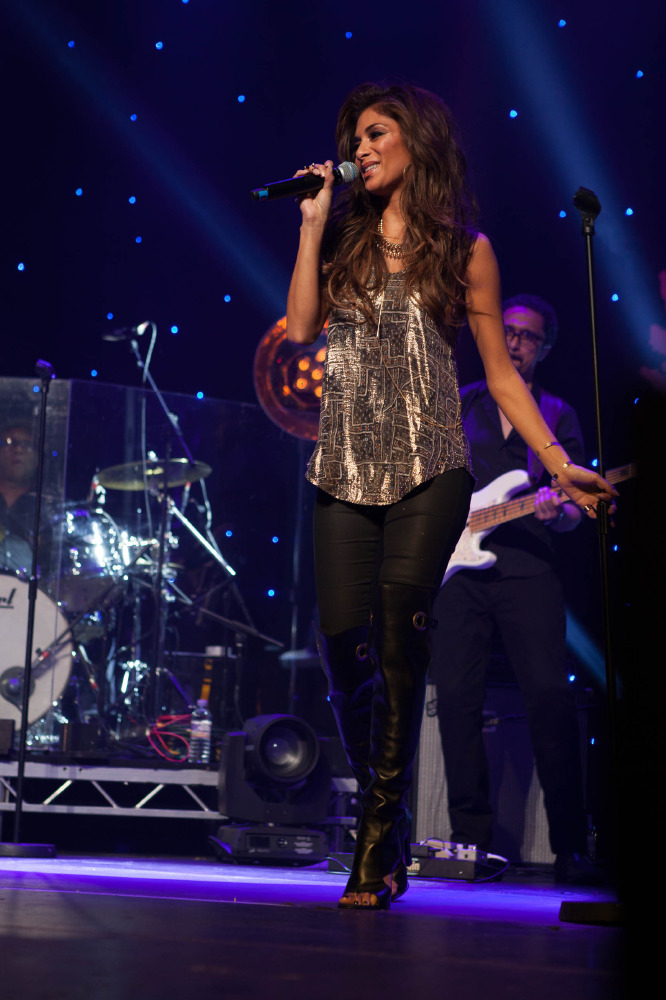 Nicole Scherzinger at the Global Angel Awards held at The Roundhouse