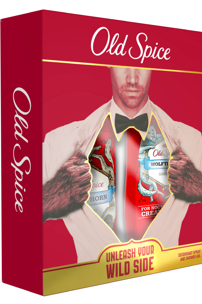 Smell Like A Real Man With Old Spice
