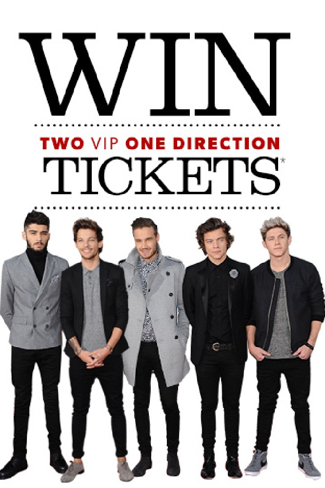 Win vip tickets to see one direction one direction m4hsunfo