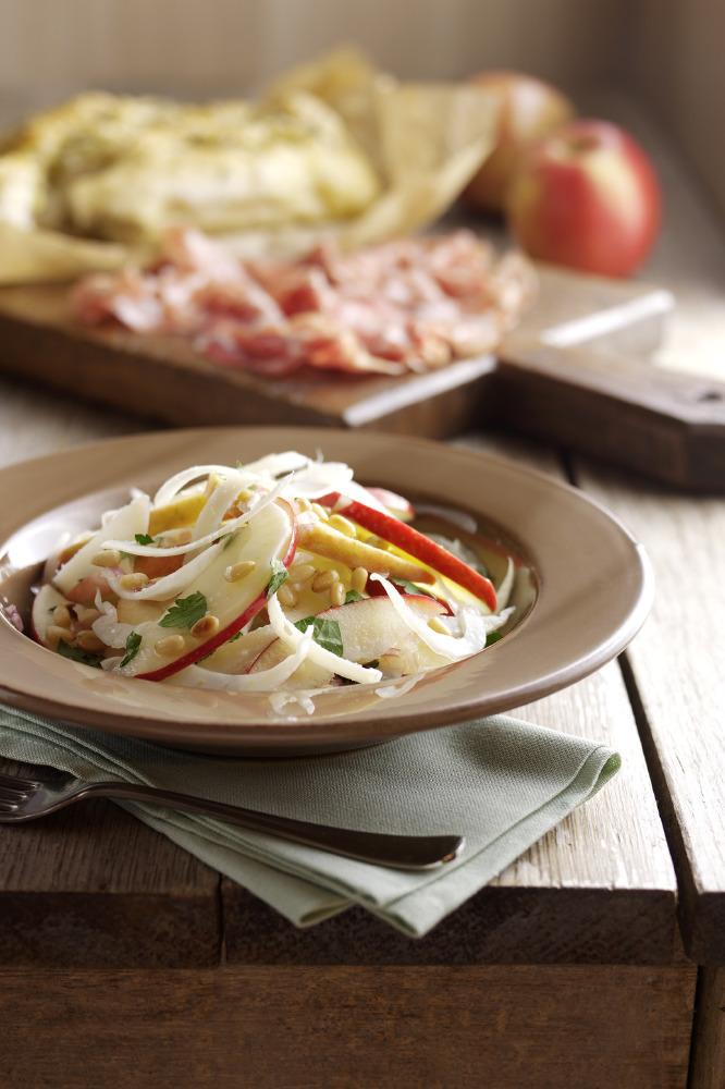 Pink Lady Apple & Fennel Salad