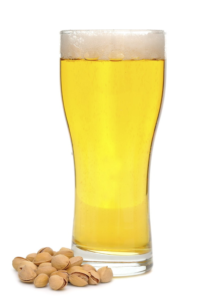 Pistachios and beer provide a number of health benefits