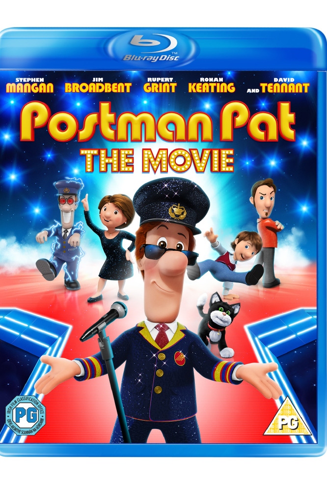 Postman Pat: The Movie Blu-Ray