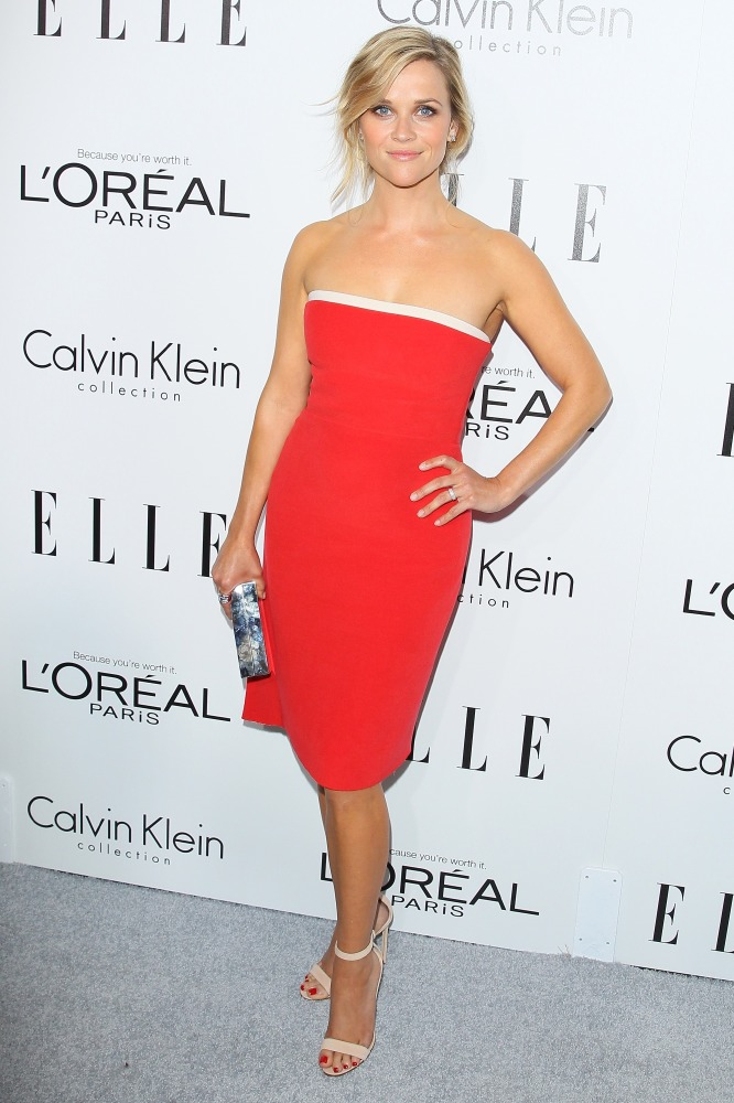 9225ec97c5af Celebrities dazzle on the Elle Women in Hollywood red carpet