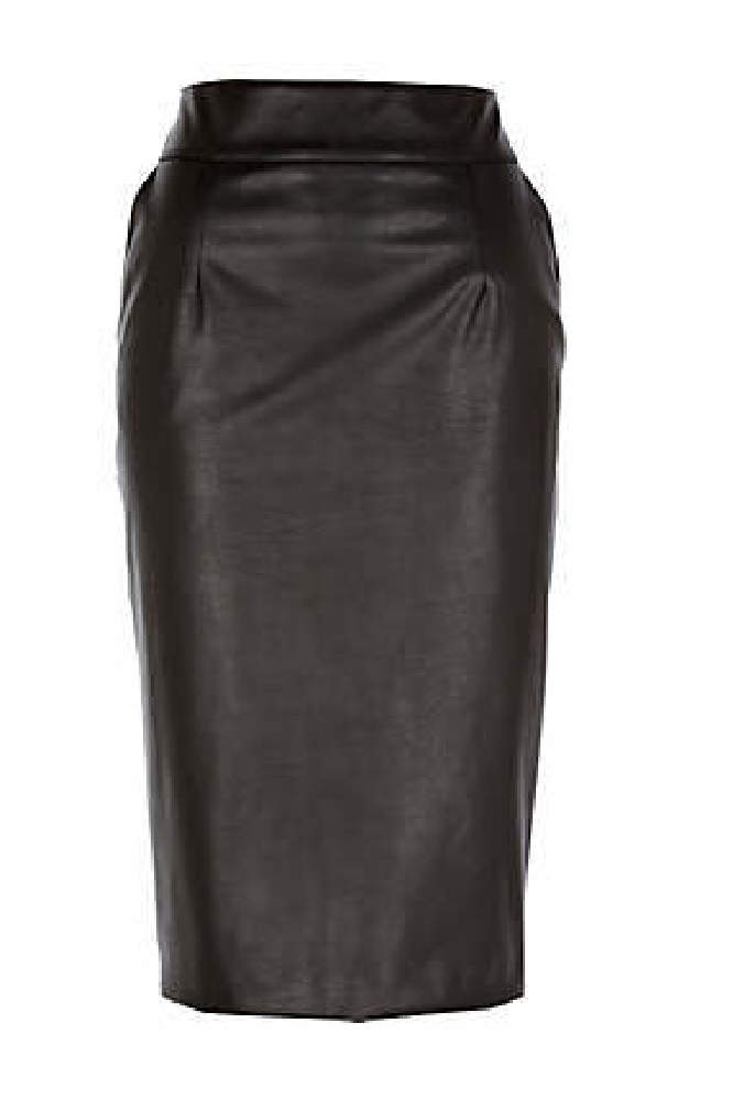 The Leather-Look Pencil Skirts from River Island You Will Need!