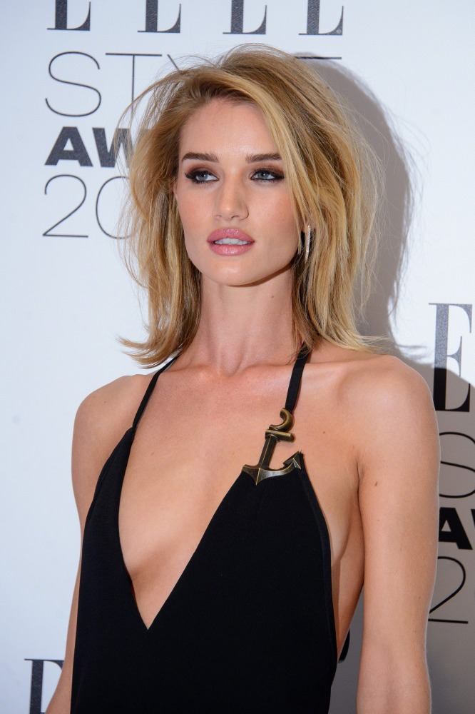Rosie Huntington-Whiteley insists her career was