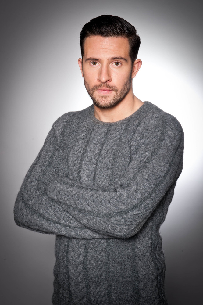 Michael Parr as Ross Barton / Credit: ITV