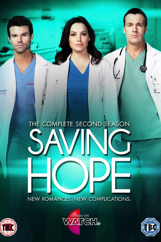 Saving Hope Season 2 Dvd