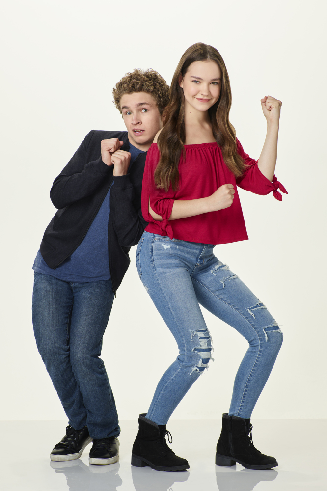 Sean Giambrone and Sadie Stanley have signed up for Kim Possible / Credit: Disney Channel