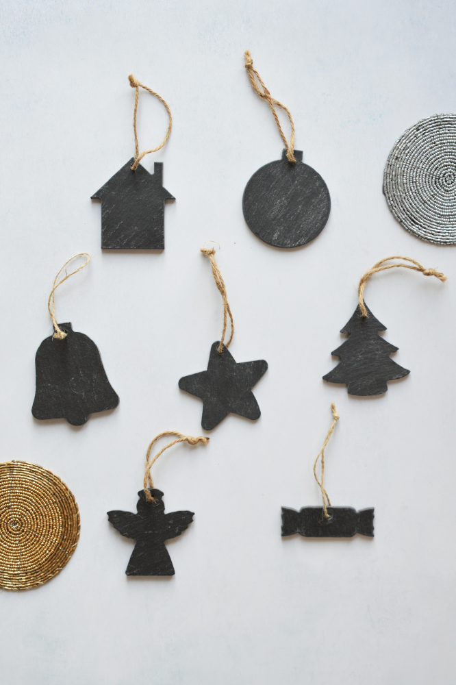 Hanging Slate Decorations