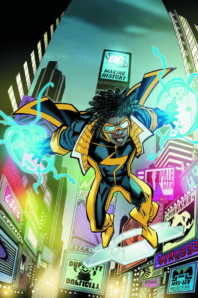 black lightning showrunner hopes to introduce static shock