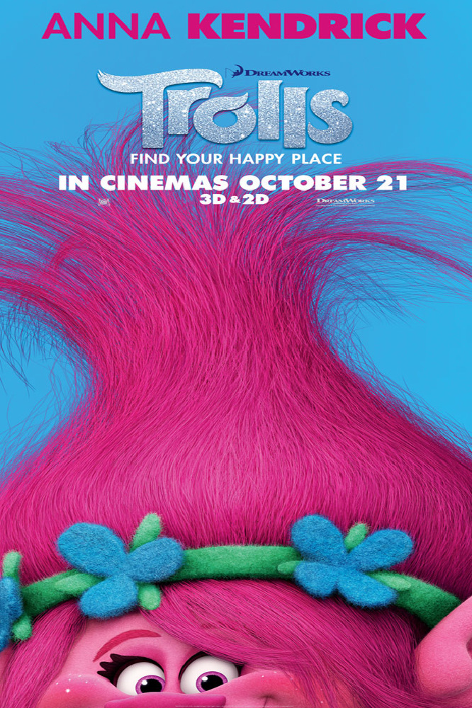 New Trolls Character Posters