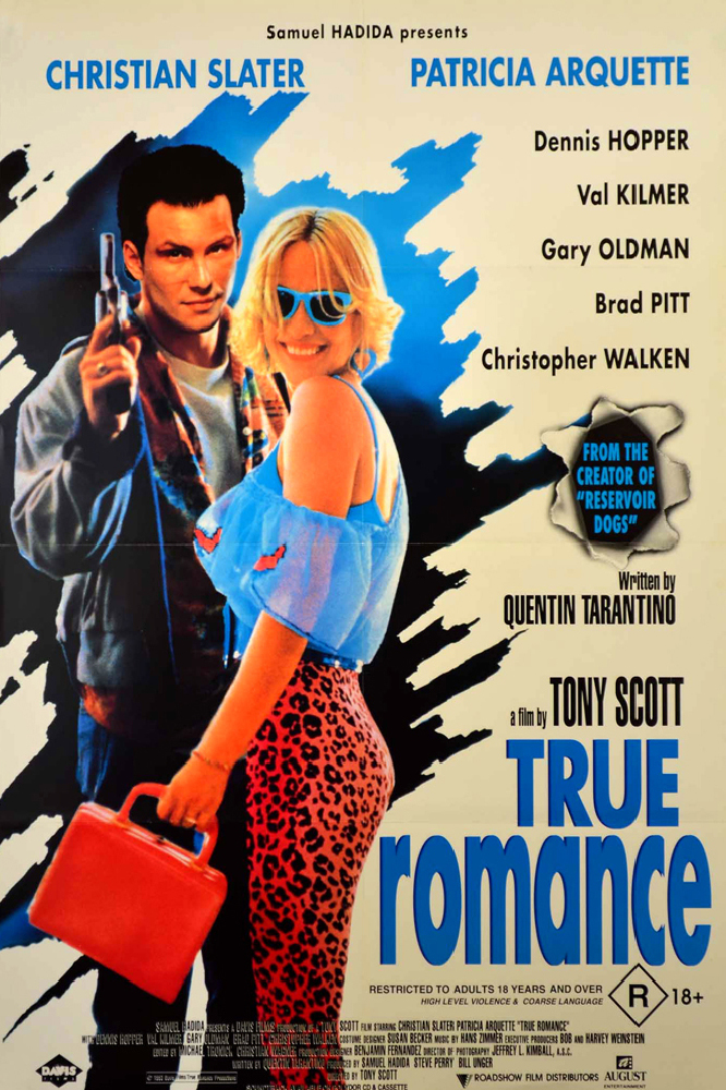Movie review about true romance written by quentin tarantino