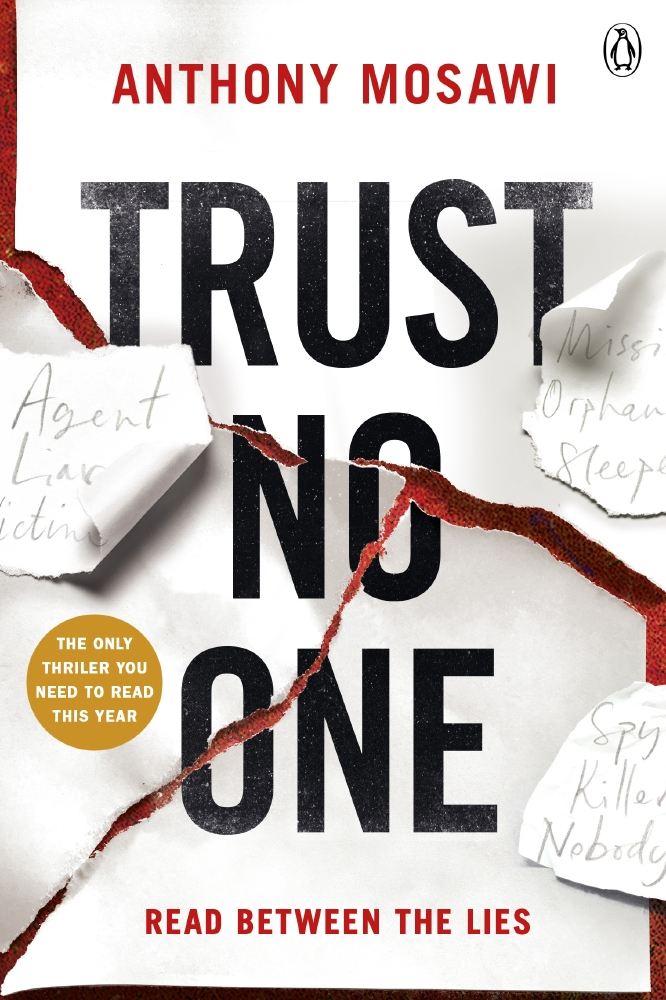 Anthony Mosawi discusses his new book 'Trust No One'