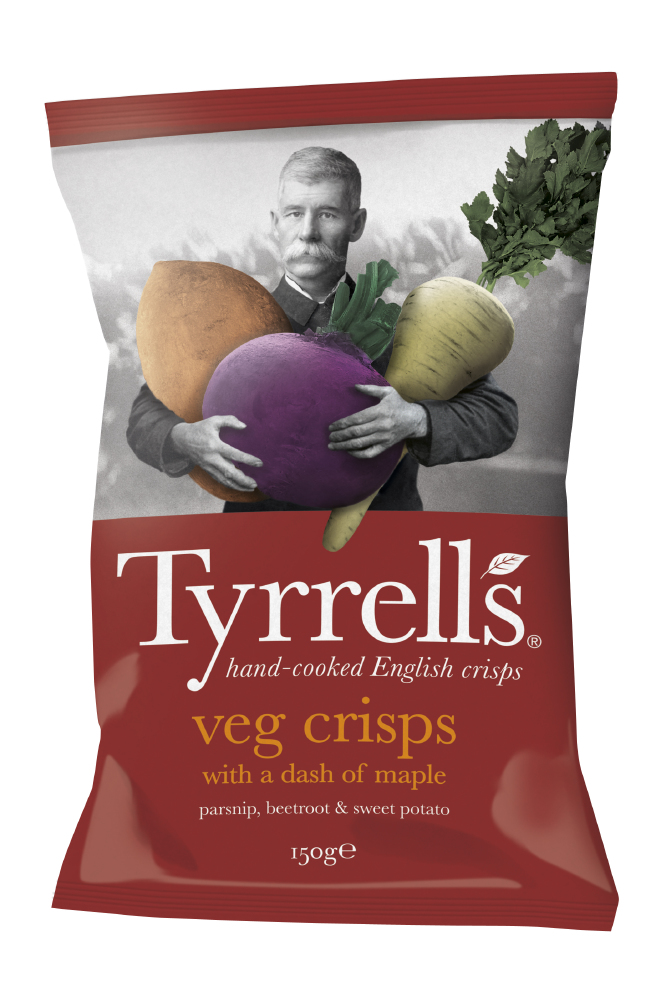 Maple Veg Crisps- Waitrose