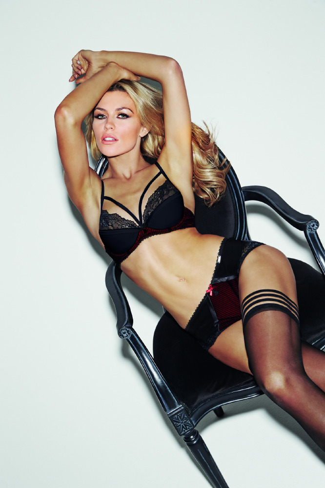 352450ee27 Abbey Clancy is sexy and provocative in new Ultimo campaign