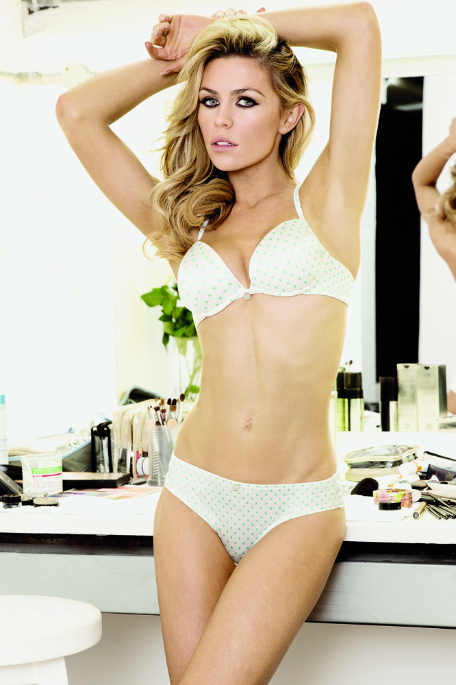 a989b56fc6 Abbey Clancy looks fresh in summer updates for our lingerie wardrobe