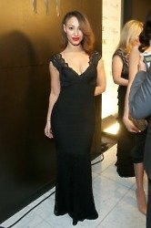 Amelle Berrabah's Lipsy Lace Maxi Dress