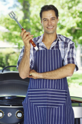 Three quarters of people think BBQing is a man's job