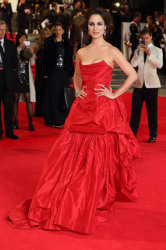 Bérénice looked divine in her dramatic gown