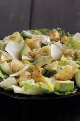 Chicken & Avocado Caesar Salad