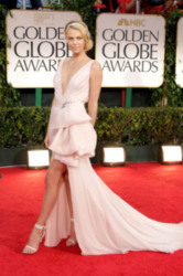 Charlize Theron at last night's Golden Globes