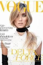 Delta Goodrem looks stunning on the cover