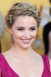 Dianna Agron looked beautiful at the SAG Awards