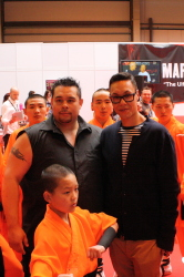 Gok Wan and his brother, Kwoklyn