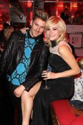 Henry Holland pictured with Pixie Lott