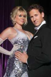 Jo Wood and Brendan Cole are dancing together again