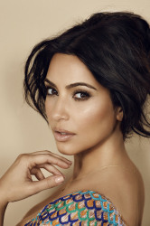 Kim Kardashian has enviable eyebrows