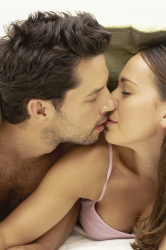 Pucker up and reap the benefits from a kiss