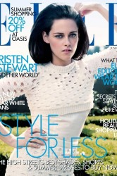 Kristen wears Jil Sander on the cover