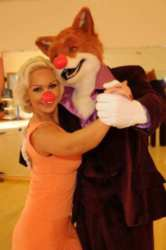 Kristina Rihanoff Fools Around With Foxy For Comic Relief
