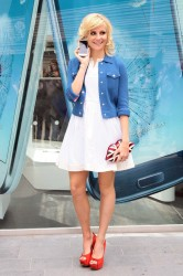 Pixie Lott is certainly getting ready to celebrate the Jubilee