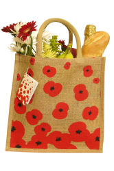 The Poppy Jute bag